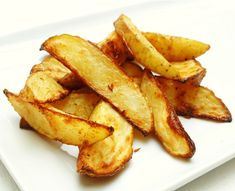 These homemade rosemary garlic potato wedges are so good and so easy that you may never again eat a frozen french fry.