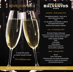 New Years Eve 2013 at Grand Hotel Balvanyos