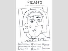 Search Tes Resources Art Lessons For Kids, Art Lessons Elementary, Art For Kids, Kunst Picasso, Art Picasso, Pablo Picasso, Art Handouts, Middle School Art, Art School