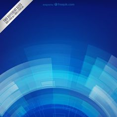 Blue spin background