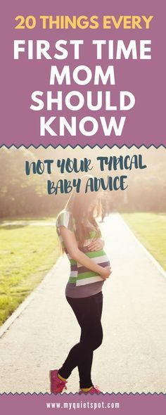 Having your first baby is life changing. These 20 first time mom advice will prepare you for the things nobody tells you. Must read for every expectant mother. Click for full article.   new mom   first time mom  