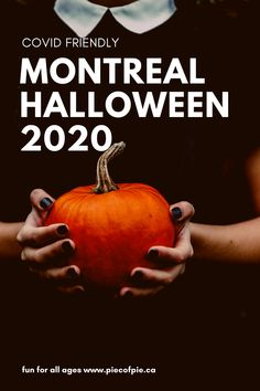 Here is a list of things for all ages. Kids activities. Family things. Things that will scare the bravest adults and more! #montreal #halloweenmontreal #thingstodoinmontreal #halloweencovid #socialdistancing
