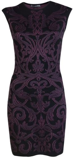 Alexander McQueen - Knit Dress - Lyst