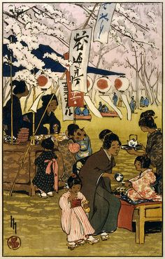 Helen Hyde--Blossom time in Tokyo, 1914