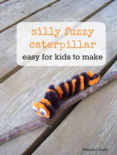 Silly fuzzy caterpil