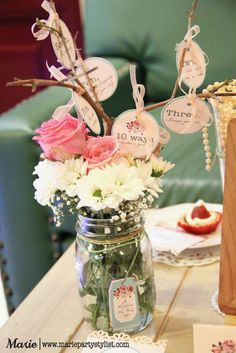 Tea Party Bridal/Wedding Shower Party Ideas | Photo 1 of 10 | Catch My Party