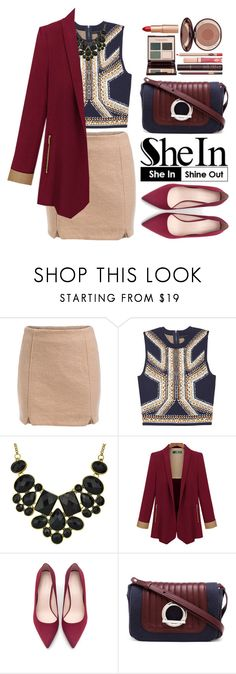 """""""Shein"""" by oshint ❤ liked on Polyvore featuring Zara, Paco Rabanne, Charlotte Tilbury, Sheinside and shein"""