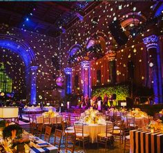 lighting is key to any event