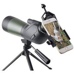 Spotting Scope 15-40x50 Spotter Binocular Lightweight Hunting Shooting Outdoor