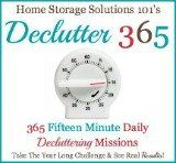Declutter 365: 365 Fifteen Minute Daily Decluttering MIssions