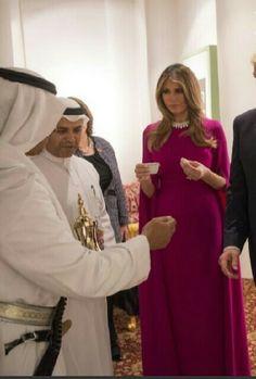 Melania inSaudia Arabia