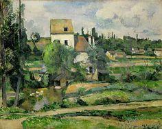 Paul Cézanne - Die Mühle an der Couleuvre bei Pontoise