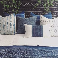 African Mud cloth Pillow Cover Ethnic by HomegirlCollection
