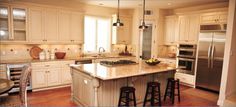 Perfect kitchen to learn how to finally bake that thing you saw on Pinterest. #UBH #UBHFamily #CustomBuilt