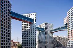 жилой комплекс Sky Habitat от Моше Сафди