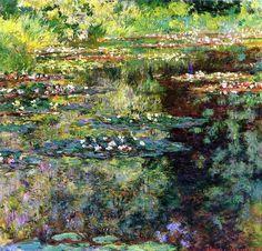 Claude Monet - Nymphéas  Monet  More Pins Like This At FOSTERGINGER @ Pinterest
