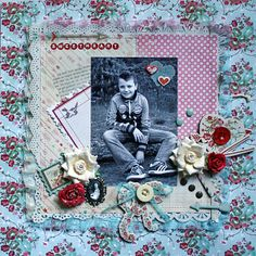 Making Embellishments from Patterned Paper by Carla Marchee February Limited Edition kit 2013