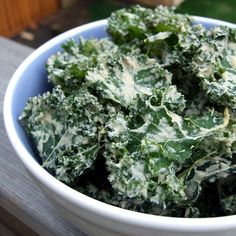 Sour Cream and Onion Kale Chips 011