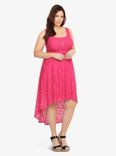 Torrid, Hi-Lo Lace Tank Dress I wish there were Torrid stores in Canada.