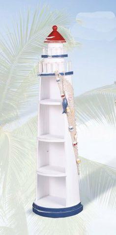 Lighthouse Shelves-FREE SHIPPING- nautical furniture . $159.99
