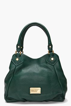 Marc by Marc Jacobs Jade Green Francesca Tote