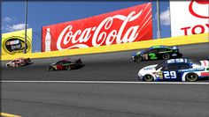 nascar images | ... Chevrolet SS and Ford Fusion NASCAR race cars on iRacing simulator