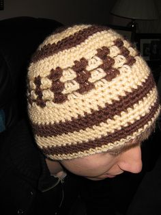 boys crocheted hat