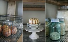 baskets and stacking plates
