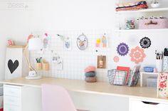 Déco : mon (graaand) bureau - Zess.fr // Lifestyle . mode . déco . maman . DIY