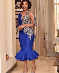 Gala Dresses, Dress Outfits, Fashion Dresses, African Print Fashion, Fashion Prints, Fancy Wedding Dresses, Couture Sewing, Afro, Gowns