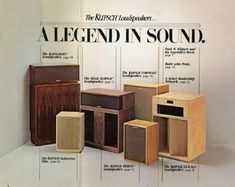 """A Legend In Sound - Designed & Assembled in the USA, by proud craftsmen in Hope, Arkansas - just like our founder, Paul W. Pro Audio Speakers, Horn Speakers, Diy Speakers, Hifi Audio, Klipsch Speakers, Audiophile Speakers, Sound Room, Speaker Plans, Speaker Design"