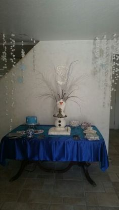 Frozen party olaf cake created by always with cake in Phoenix