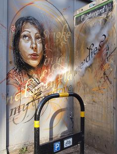 Smoke gets in your eyes - C215, Dale Grimshaw