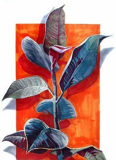 Painting Inspiration, Art Inspo, Art Sketches, Art Drawings, Kunst Inspo, Art Sur Toile, Instalation Art, Illustrations, Illustration Art