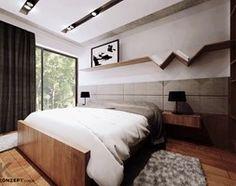 Piaskowa - Sypialnia, styl minimalistyczny - zdjęcie od KONZEPT Architekci