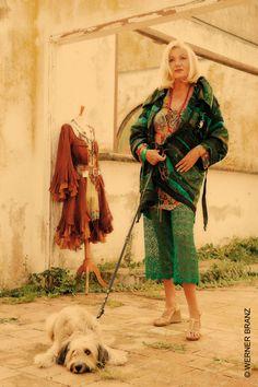 Dora  Herbst, the  designer.