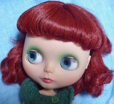 Imogen - my gorgeous Gentle River Blythe - lightly customised by Jodie Loves Dolls