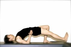 The Pilates Shoulder Bridge will Give you a Strong Back and Tight Buns.: The Pilates Shoulder Bridge Step 3