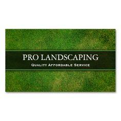 Die 15 Besten Bilder Von Landscaping Business Cards Landscaping