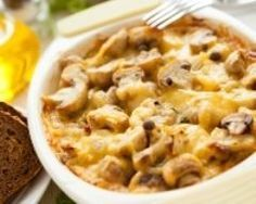 Gratins de champignons et pommes de terre (facile, rapide) - Une recette CuisineAZ