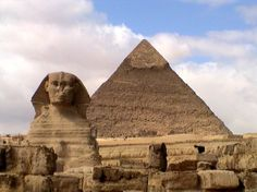 Giza - Sphinx and The Great Pyramid