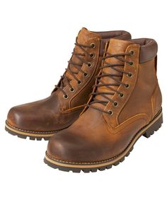 """These Men's Timberland Earthkeepers Rugged 6"""" Plain Toe Boots are premium full grain leather providing comfort, durability and protection from the rain and wet ground. This pair of boots have been made to offer hardwearing comfort that you can rely on. Packed with a number of practical features."""