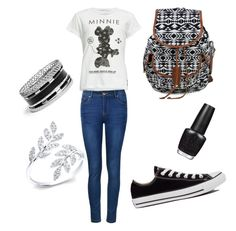 """School"" by lexilew290 ❤ liked on Polyvore featuring interior, interiors, interior design, home, home decor, interior decorating, Neff, Ally Fashion, Converse and GUESS"