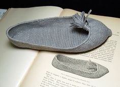 shoe made from bast fiber reconstructed a shoe found in cave in Kentucky in 1806