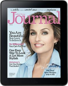 Ladies Home Journal - Magazine offers tips on household management, food and nutrition, family and home, beauty and fashion, health and fitness, and more.