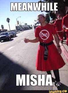 Short Misha spam