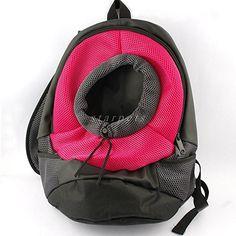 Pet Dog Cat Front Carrier Mesh Portable Outdoor Travel Backpack Head out Carrier Bag  Large SIZE  * Check out the image by visiting the link.