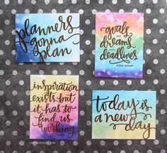 DIY Foil Planner Cards (PL Cards) with Heidi Swapp Minc Mini by Kristina Werner