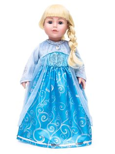 Ice & Scandinavian Princess Doll Dresses | Jane
