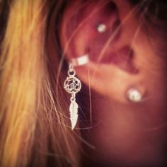 Dream catcher #cuff #earring
